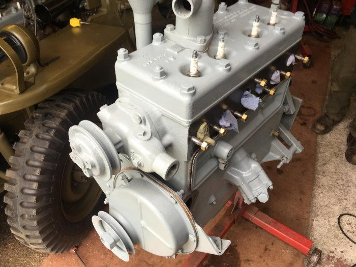 What Is A Crate Engine >> GPW Engine Fully Rebuilt - Spares - MILWEB CLASSIFIEDS
