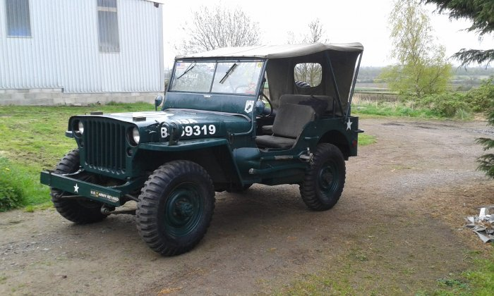 1945 willys mb jeep jeeps milweb classifieds. Black Bedroom Furniture Sets. Home Design Ideas