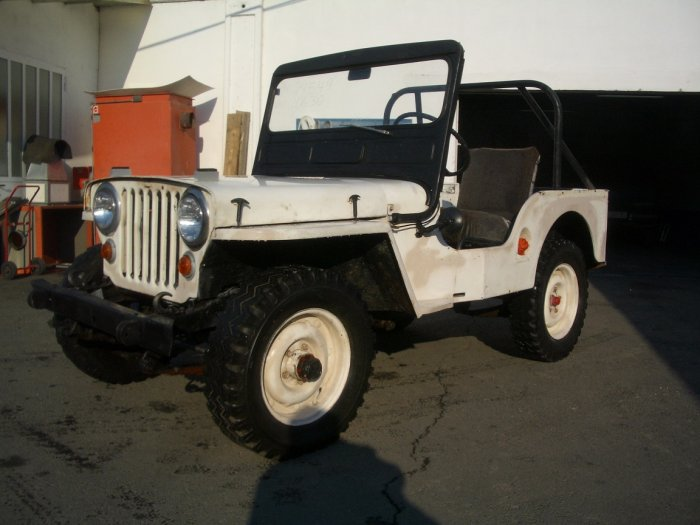 1950 Willys Jeep CJ-V35/U