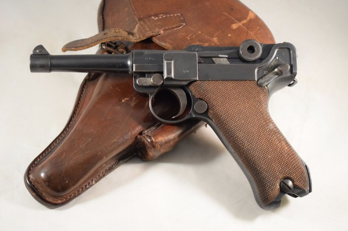 WW1 Luger DWM 1917 Full Matching Numbers