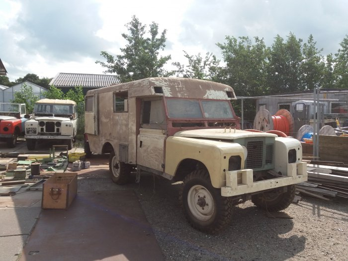 Land Rover Series 2a Ambulance Excellent Barn Find LHD