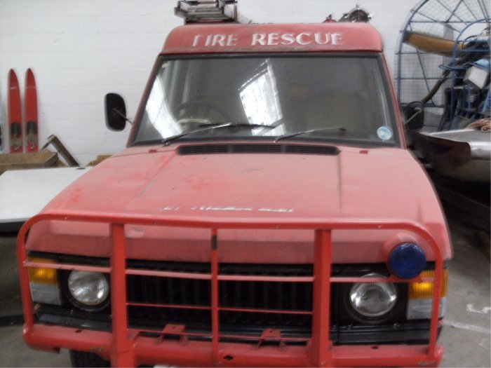 TACR2 Range Rover 6 Wheel Drive Fire Engine