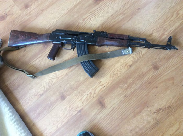 Soviet AKM assault rifle AK47