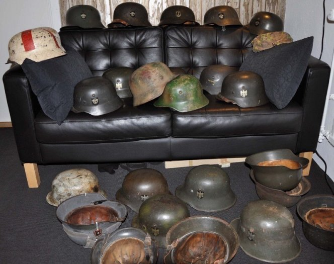 WW2 German Helmets Collection
