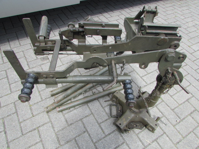 50 Cal Browning M63 Anti Aircraft mount