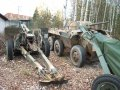 Howitzer US 105mm historic ...