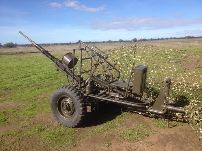 Oerlikon 20mm Anti Aircraft Gun