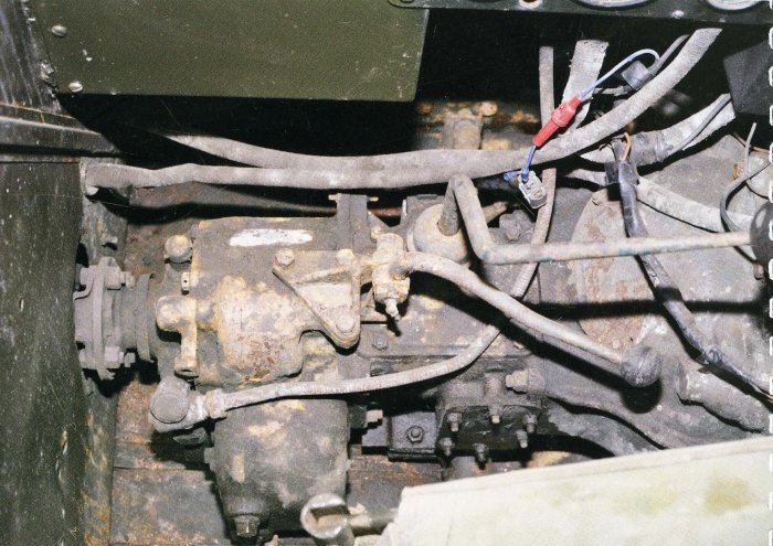 Gear Box for Tracked Jeep