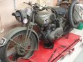1940 Norton 16H motorcycle