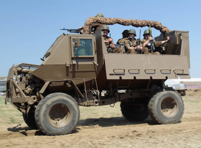 South African Defence Force 1985 Buffel Mk1 Mine Protected